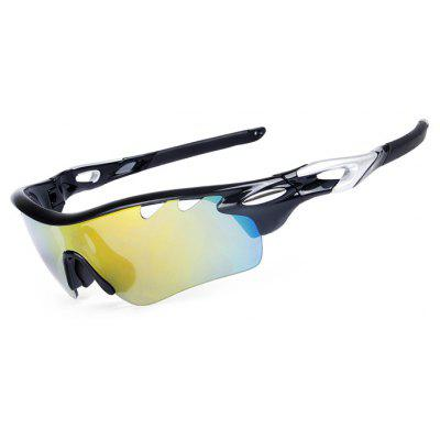 Buy BLACK OBALAY SP0896 5-replacement-lens Polarized Cycling Glasses for $16.67 in GearBest store