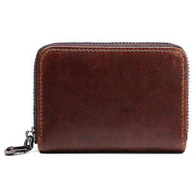 Retro Genuine Leather Card Holder for Men
