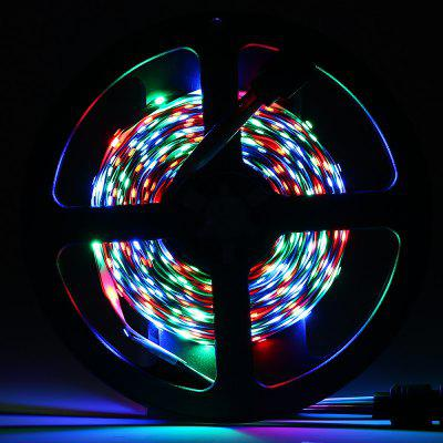 HML 2PCS / Kit 5M 24W RGB 2835 SMD 300 LEDs Strip Light