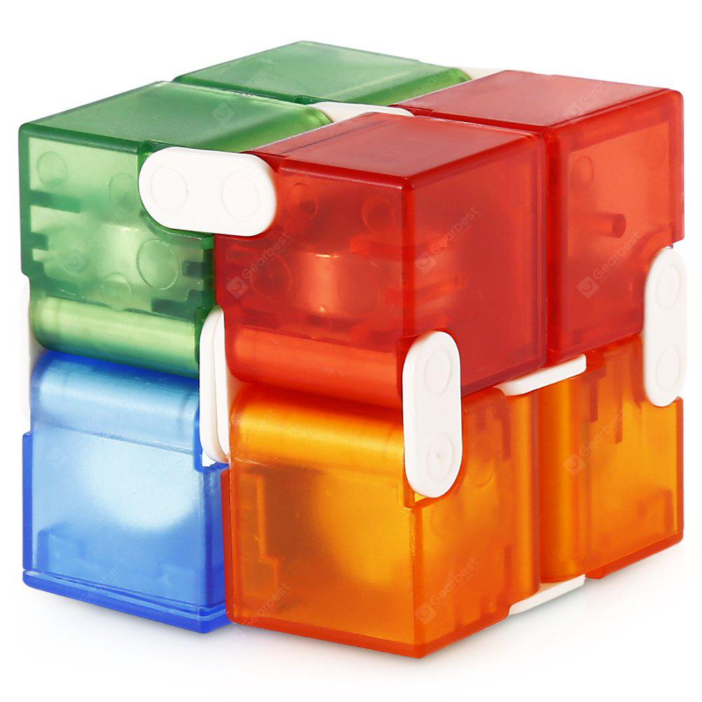 Yeshold Colorful Weighted Plastic Infinity Cube
