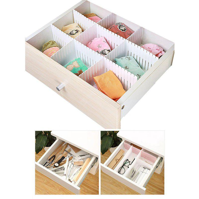 Buy Classification Kitchen Desktop Drawer Tidy Partition WHITE
