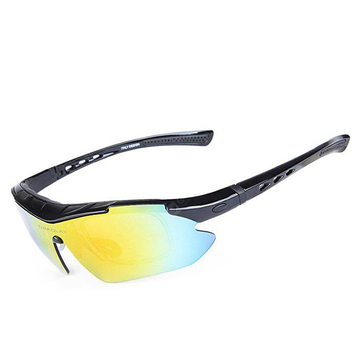 BLACK OBALAY SP0890 5-replacement-lens Polarized Cycling Glasses