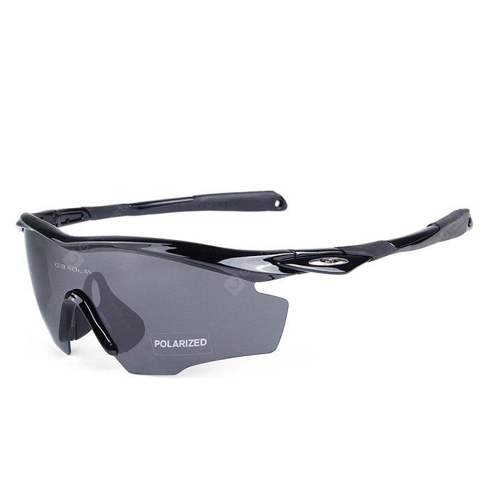 BLACK OBALAY SP0891 5-replacement-lens Polarized Cycling Glasses