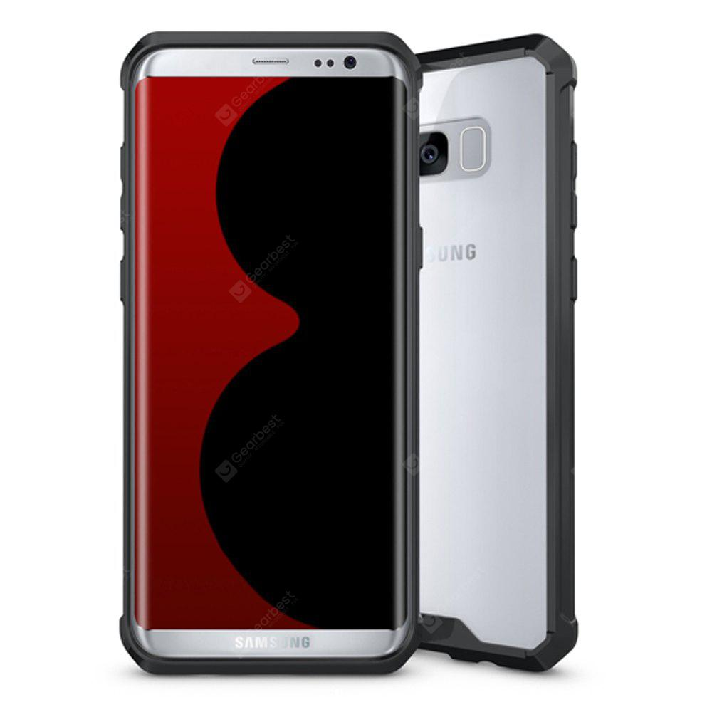Ultra Clear Acrylic Back Phone Cover for Samsung Galaxy S8