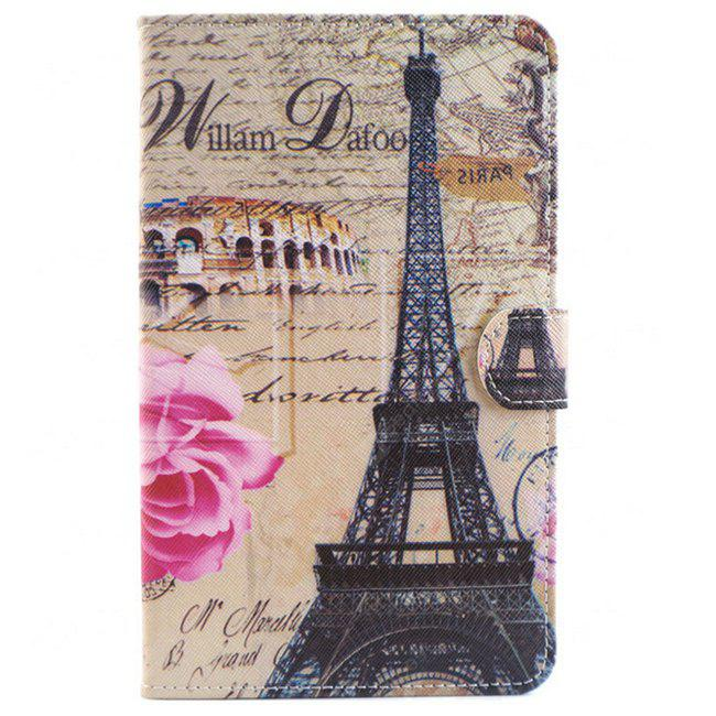 Iron Tower Style Tablet Ultra Thin Case pour Samsung Tab 4 T330