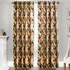 Ink-jet Printing Splendid Pattern Window Curtains 52 x 84 inch - COLORMIX