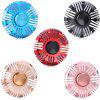 Round Cooling Fin Style Zinc Alloy Fidget Spinner - BLUE
