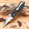 BROTHER 1606 Pocket Axis Lock Folding Knife with G10 Handle - BLACK