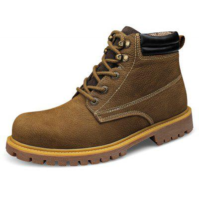 Men High Top TPR Soles Boots