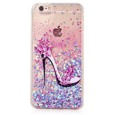 Buy COLOFUL Colorful Pink Glitter Powder Phone Cover for iPhone 6 Plus / 6S Plus for $4.06 in GearBest store