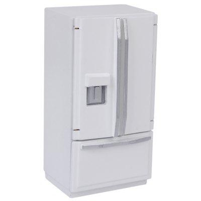 Buy WHITE Miniature Wooden Fridge for $16.61 in GearBest store