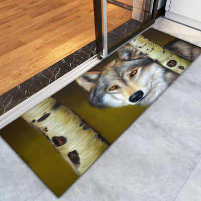 Buy COLORMIX 3D Printing Wolf Pattern Non-Slip Floor Carpet for $12.58 in GearBest store
