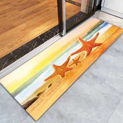 Buy COLORFUL 3D Printing Pretty Starfish Pattern Non-Slip Floor Carpet for $12.58 in GearBest store