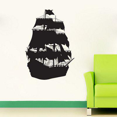 Sail Pattern Waterproof  Home Decor Wall Sticker