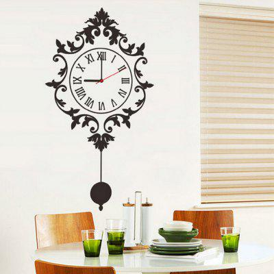 Creative Wall Clock Sticker