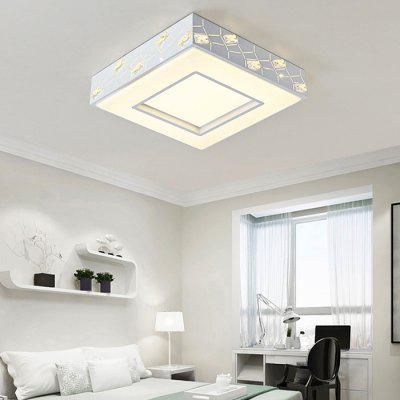 Brelong Square Crystal LED Ceiling Light 180 - 240V