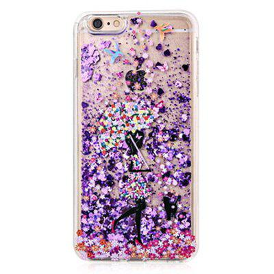 Buy COLORMIX Girl Theme Painted Soft Case for iPhone 6 / 6S for $4.24 in GearBest store