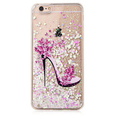 Buy COLOFUL Feminine Heels Glitter Powder Phone Cover for iPhone 6 / 6S for $4.06 in GearBest store