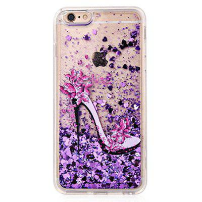 Buy COLOFUL Heels Glitter Powder Phone Cover for iPhone 6 / 6S for $4.06 in GearBest store