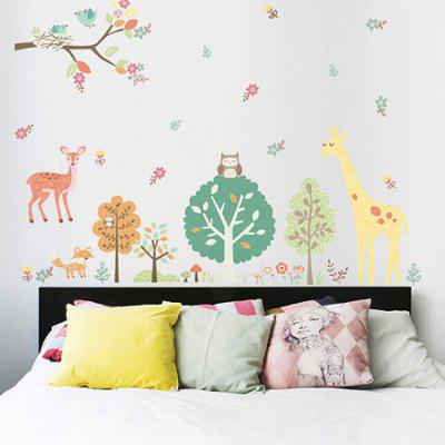 DIY Wallpaper Cartoon Wall Sticker for Creative Decoration