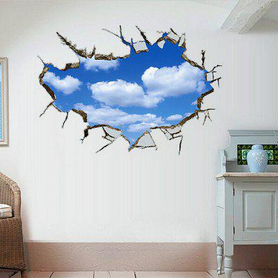 3D Sky Style Home Decor Wall Sticker