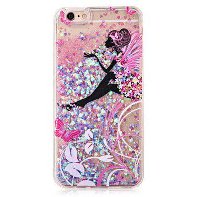 Buy COLOFUL Absorbing Glitter Powder Girl Phone Cover for iPhone 6 Plus / 6S Plus for $4.06 in GearBest store