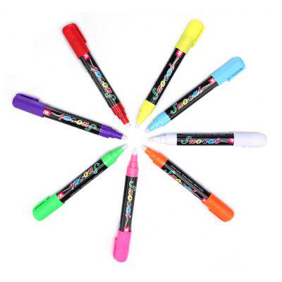 8PCS Luminous Highlighter Pen for Office
