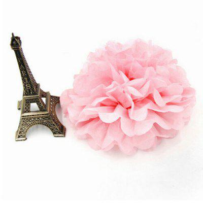 6 inch Papaya Paper Flower Ball