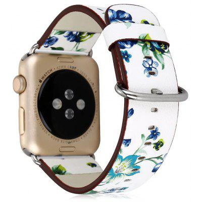 Pulsera de Reloj de Cuero y de Moda para Apple Watch