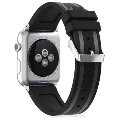 Silicone Well-knit  Athletic Watchband for Apple Watch