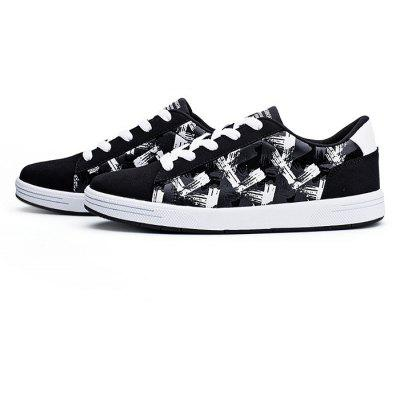 Casual Printed Skateboarding Shoes for Men