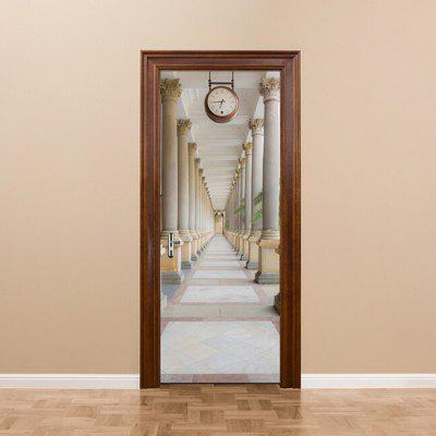 DM049 3D Self Adhesive Scenery Door Sticker