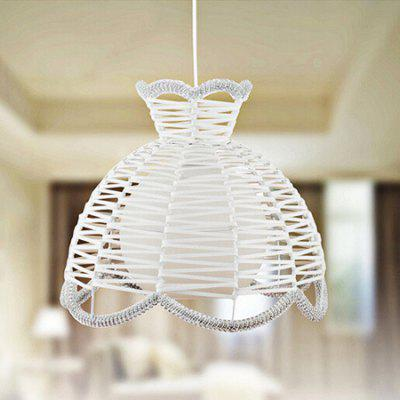 Weaving Basket Bine Pendant Light 220VPendant Light<br>Weaving Basket Bine Pendant Light 220V<br><br>Battery Included: No<br>Bulb Base: E27<br>Bulb Included: No<br>Chain / Cord Length ( CM ): 60<br>Features: Designers<br>Fixture Height ( CM ): 35<br>Fixture Length ( CM ): 30<br>Fixture Width ( CM ): 35<br>Light Direction: Ambient Light<br>Number of Bulb: 1 Bulb<br>Number of Bulb Sockets: 1<br>Package Contents: 1 x Pendant Light, 1 x Set of Install Accessory<br>Package size (L x W x H): 38.00 x 38.00 x 40.00 cm / 14.96 x 14.96 x 15.75 inches<br>Package weight: 4.0400 kg<br>Product weight: 3.8600 kg<br>Shade Material: Glass, Metal<br>Style: Modern/Contemporary<br>Suggested Room Size: 20 - 30?<br>Suggested Space Fit: Indoors<br>Type: Pendant Light<br>Voltage ( V ): AC220