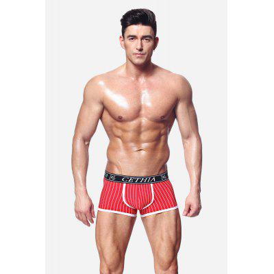 Men Cotton Boxers with U-pouch