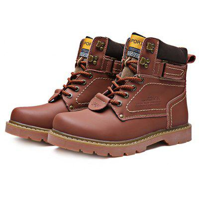 Plus Size High Top Martin Boots for Men