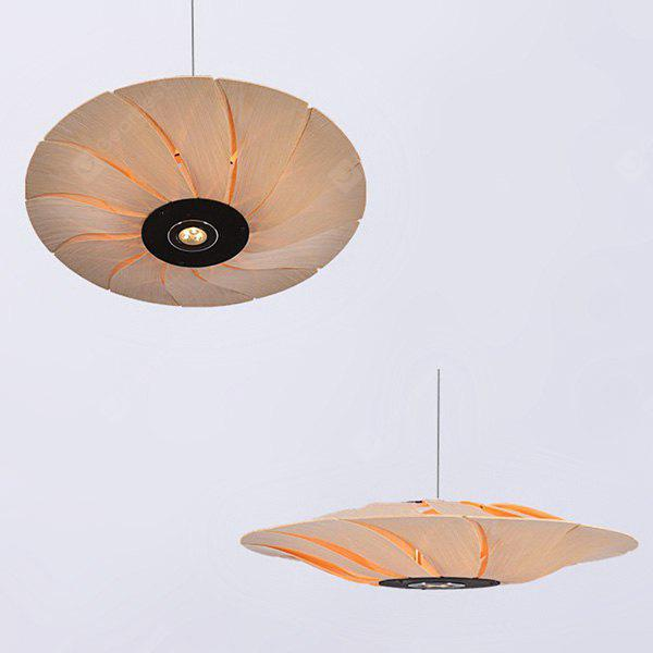Southeast Asian Wood Pendant Light 220V