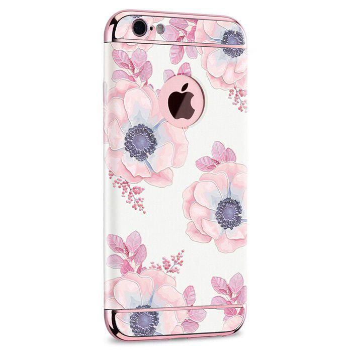 COLORFUL AND WHITE Fascinating Flowers Modern Phone Cover Case for iPhone 6 / 6S