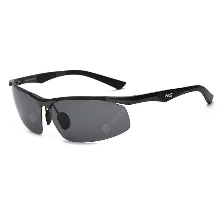 BLACK+GREY Karenheather JL3009 Male UV400 Polarized Cycling Glasses