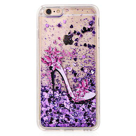 COLOFUL Heels Glitter Powder Phone Cover for iPhone 6 / 6S