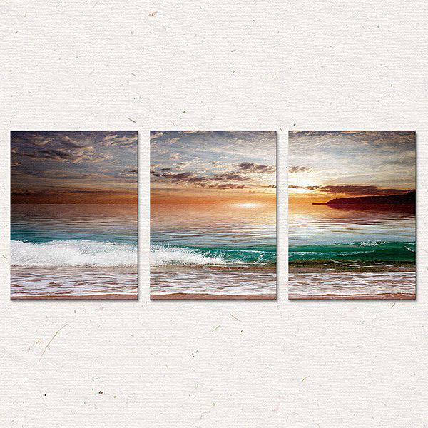 COLORFUL Beach DIY Home Decor Wallpaper Wall Picture Mural