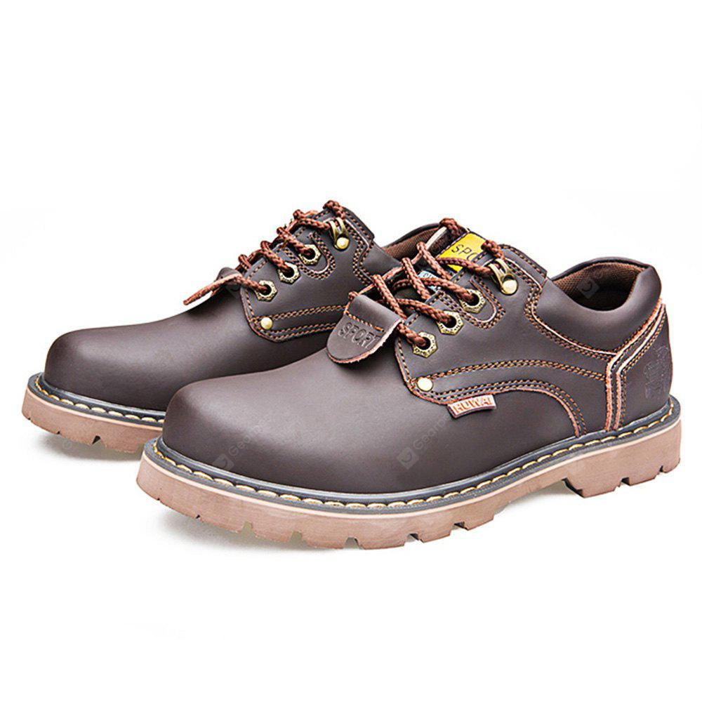 Chic British Style Leather Shoes for Men