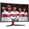 HKC G27 144Hz Gaming Display Curved Monitor - RED WITH BLACK