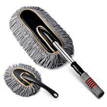 CARSETCITY Retractable Handle Sweep Lash Duster