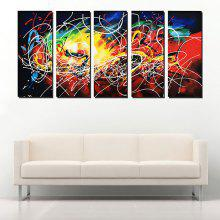 YHHP Canvas Oil Painting Abstract Art Hand Painted