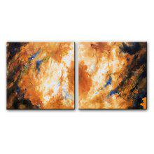 YHHP Oil Painting Abstract Style Canvas Material Decoration