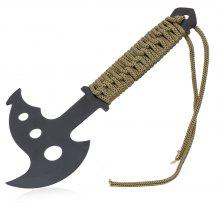 Portable Stainless Steel Axe with Paracord / Sheath