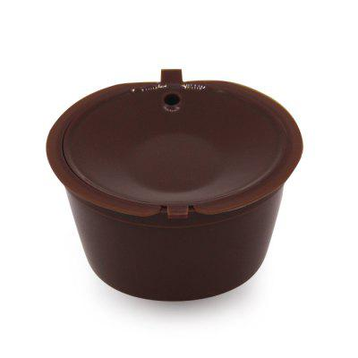 Practical Coffee Filter Capsule CupColanders &amp; Strainers<br>Practical Coffee Filter Capsule Cup<br><br>Available Color: Brown<br>Material: PP<br>Package Contents: 1 x Coffee Filter<br>Package size (L x W x H): 7.40 x 7.40 x 6.00 cm / 2.91 x 2.91 x 2.36 inches<br>Package weight: 0.0350 kg<br>Product size (L x W x H): 5.40 x 5.40 x 4.00 cm / 2.13 x 2.13 x 1.57 inches<br>Product weight: 0.0100 kg<br>Type: Other Kitchen Accessories