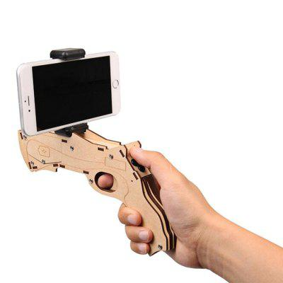 AR Game Gun Virtual RealityVR Accessories<br>AR Game Gun Virtual Reality<br><br>Bluetooth: Yes<br>Interface: No<br>Package Contents: 1 x AR Game Gun, 1 x Screwdriver<br>Package size (L x W x H): 21.00 x 26.00 x 4.00 cm / 8.27 x 10.24 x 1.57 inches<br>Package weight: 0.2500 kg<br>Product size (L x W x H): 19.80 x 22.30 x 2.30 cm / 7.8 x 8.78 x 0.91 inches<br>Product weight: 0.2000 kg