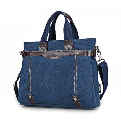Buy BLUE SIMU Casual Business Handbag for Traveling for $41.97 in GearBest store