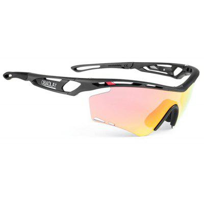 Buy ORANGE SP0908 Protective Polarized Lens Cycling Glasses for $22.30 in GearBest store